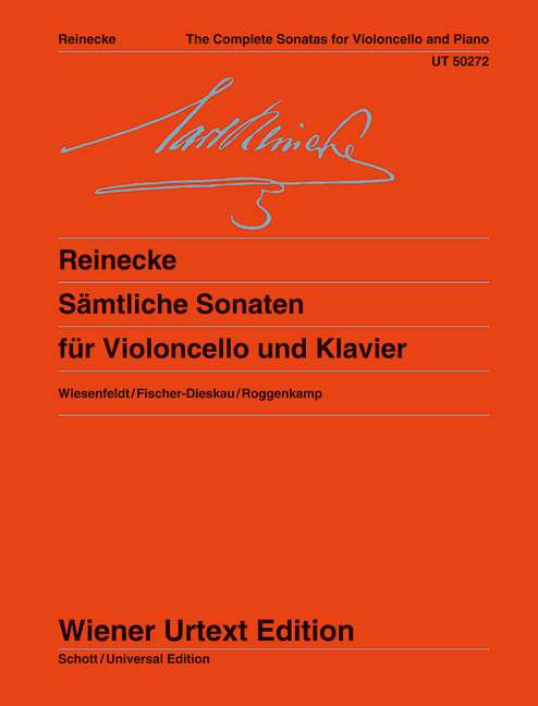 Reinecke: The Complete Cello Sonatas published by Wiener Urtext